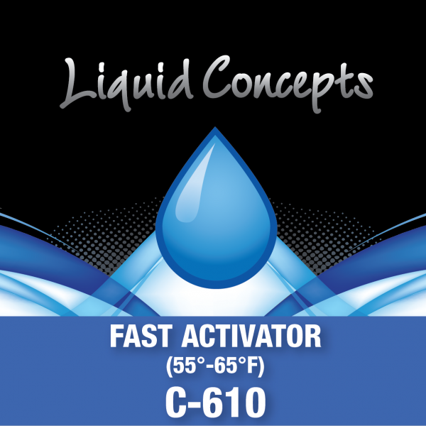 Hydrographic Fast Activator - Clear Coat -