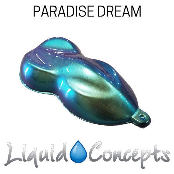 Hydrographic Paradise Dream Color Shift Paint -