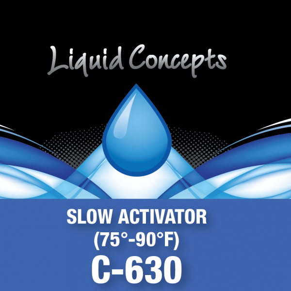 Hydrographic Slow Activator - Clear Coat -