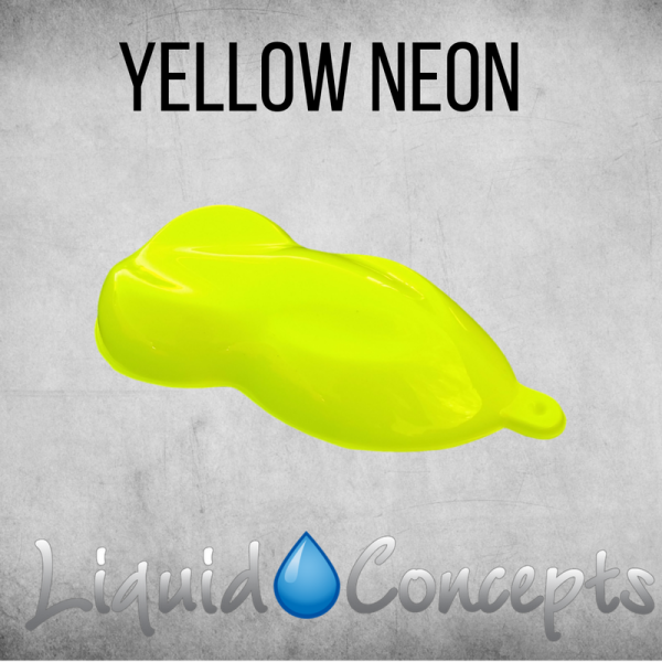 Hydrographic Paint Neon Yellow -