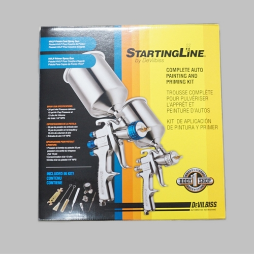 Hydrographic Supplies Devilbiss Startingline Kit - startingline-kit