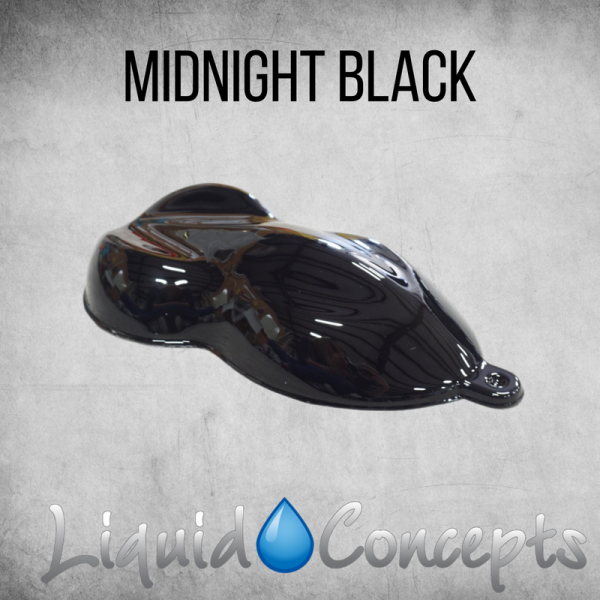 Hydrographic Midnight Black -