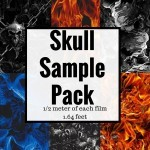 DIY Skull Film Sample Pack