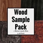 Pro Wood Grain Film Sample Pack