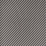 Light Grey Diagonal Weave Carbon Fiber