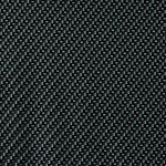 Black, Silver, and Clear Weave Carbon Fiber