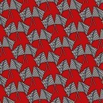 Checkered Flags Red