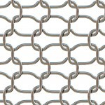 Chrome Wire Fence