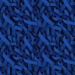 Dark Blue Ribbons