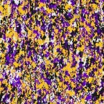 Digital Camo Purple and Yellow