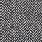 Grey Herringbone Wool Tweed