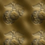 Marine Corps Embossed Leather