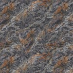 Rust and Black Granite