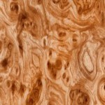 Light Tan Burl Wood