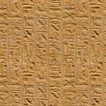 Stone Heiroglyphics