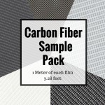 Pro Carbon Fiber Film Sample Pack