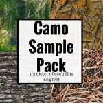 DIY Camo Film Sample Pack