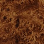 Golden Brown Burl Wood