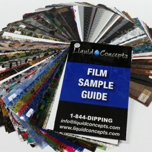 Film Sample Booklet Product Thumbnail