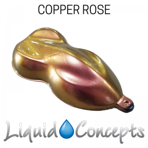 Copper Rose Color Shift Paint