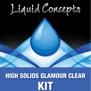 High Solids Glamour Clear Kit