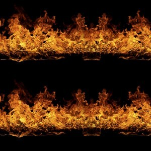 Linear Surface Flames