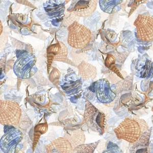 Watercolor Seashells