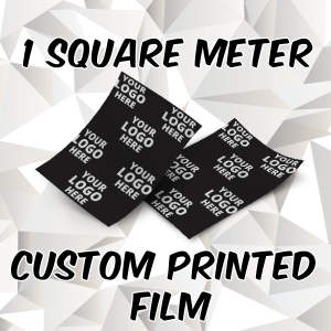 Square Meter of Custom Printed Film