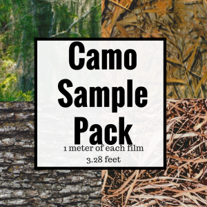 Pro Camo Film Sample Pack
