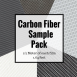 Hydrographic Film DIY Carbon Fiber Film Sample Pack - carbon-fiber-film-sample-pack